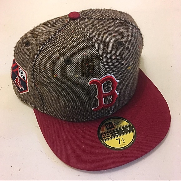 New Era 5950 Boston Red Sox Fitted Hat 7 1 2 MLB 523a378b385