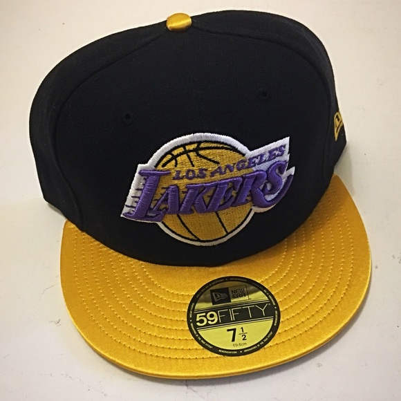 f877b685429bba New Era Accessories | 5950 Los Angeles Lakers Fitted Hat 7 12 | Poshmark