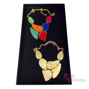 Accessories - Color Block Necklace - Reversible!