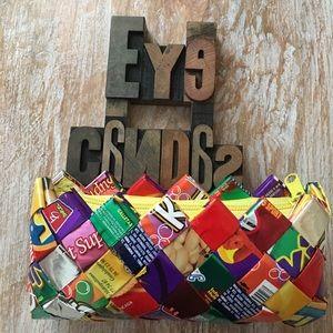 ECOIST Confetti Juice Box Make Up Bag/Clutch