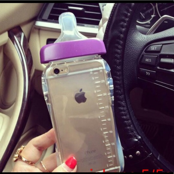 huge discount d5a63 26dbc baby bottle iphone case