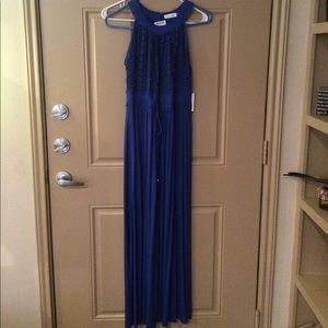 NWT CK Halter Maxi Dress