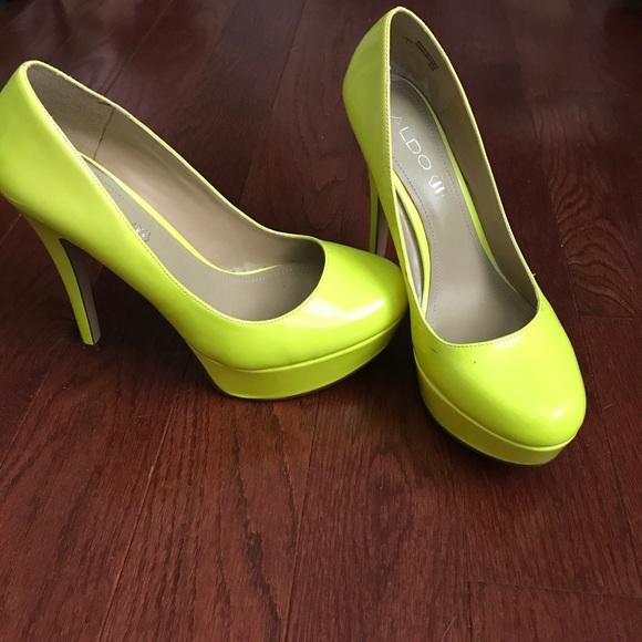 Bright Platform Heels