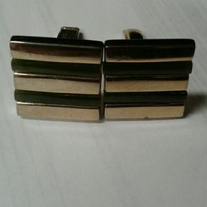 Other - Green and gold colored cufflinks