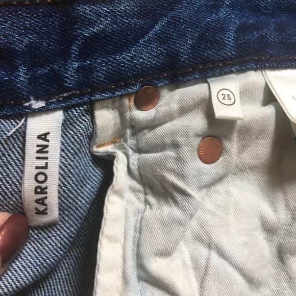 GRLFRND Jeans - High Rise Karolina Skinny Jean GRLFRND ~25
