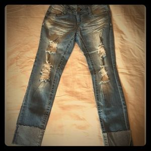 Jean capris (twentyone Black by rue 21) size 1/2