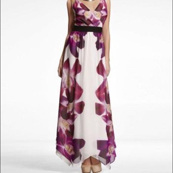 512dcbd460 Express Dresses & Skirts - Floral Orchid express maxi