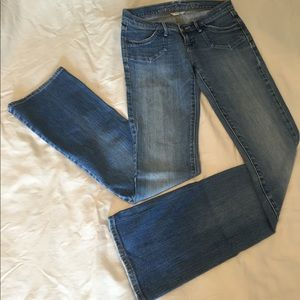 Abercrombie & Fitch boot cut stretch jeans size 0