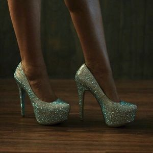 Sparkle and Shine Heels by Betsy Johnson