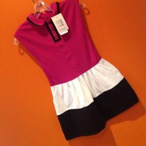 NWT Girls Sleeveless Cotton Dress 9