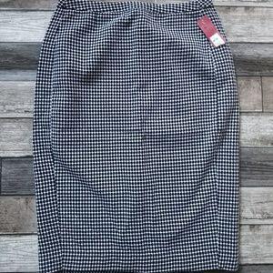 MERONA Pencil Skirt Ebony