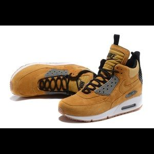 on sale 31d59 4efb3 Nike Shoes | Air Max 90 Sneakerboot Winter Suede | Poshmark