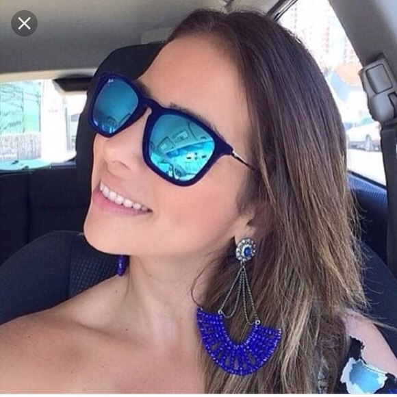d12a6061da Ray-Ban Chris Velvet Blue Velvet Sunglasses. M 5987935d99086adfe20888bf