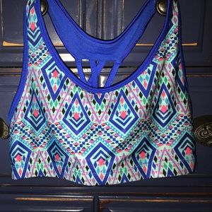 Tops - NWOT• Justice dance sports bra