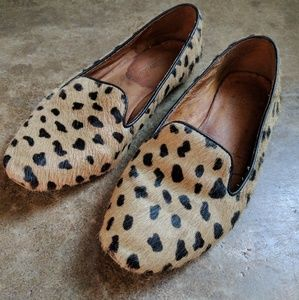 Madewell Teddy Leopard Loafer