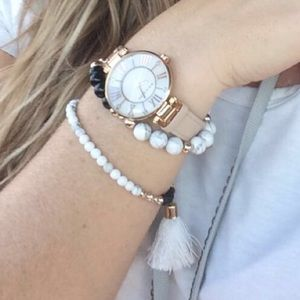 Tassel Stretch Bracelet Set
