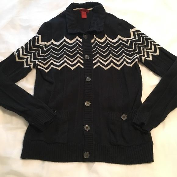 Missoni For Target Sweaters Mens Chevron Cardigan Sweater Poshmark