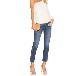 GRLFRND Naomi High-rise ankle jeans