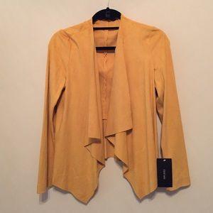 Zara Basics Yellow Gold Blazer