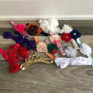 Other - 13 baby headbands