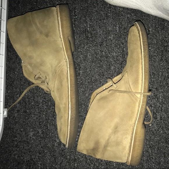Clarks Shoes Desert Boots Oakwood Suede Poshmark