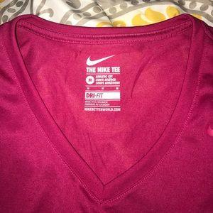 Nike woman's dri-fit tee