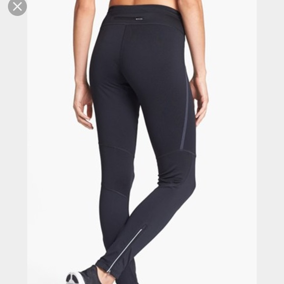 clearance prices price reduced world-wide free shipping Nike 'Tech 2' Dri-FIT leggings zip sides