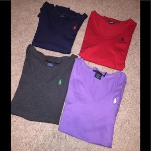 Short sleeve polo tees