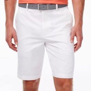 Greg Norman White Shorts NWT