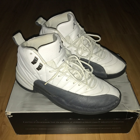 11481b0e37d0 Air Jordan Other - Air Jordan 12 Shoes - Flint Grey - Used
