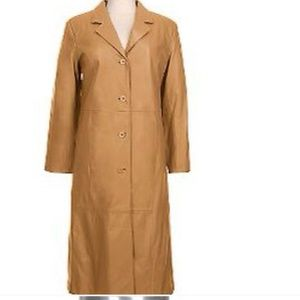 Jackets & Blazers - Classy Leather trench coat