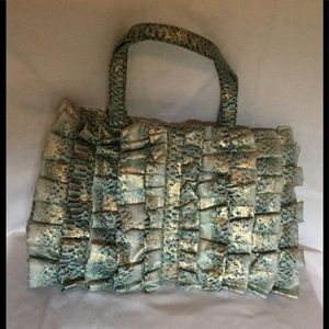 Other - NEW Fashionista Metallic accent diaper bag