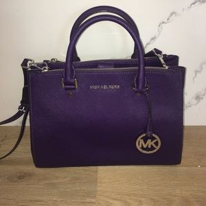 Purple Michael Kors Bag