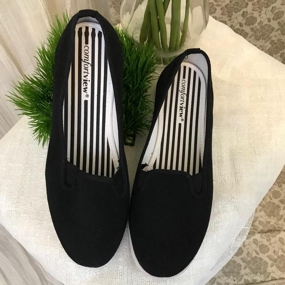 Extra Wide Width Slip Ons Sneakers