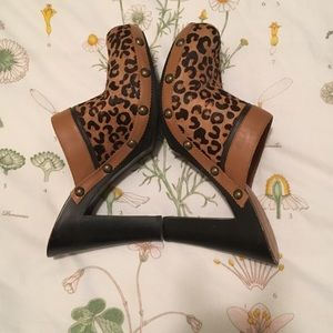 Tommy Hilfiger Shoes - Tommy Hilfiger Leather Pony hair Mules