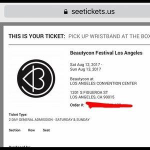 Other - Beautycon LA tickets