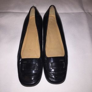 Coach Darby Black Patent Leather Shoes Size 6