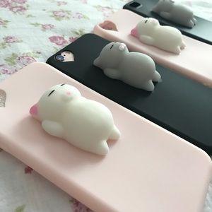 Accessories - Squishy cat case iPhone 6/s