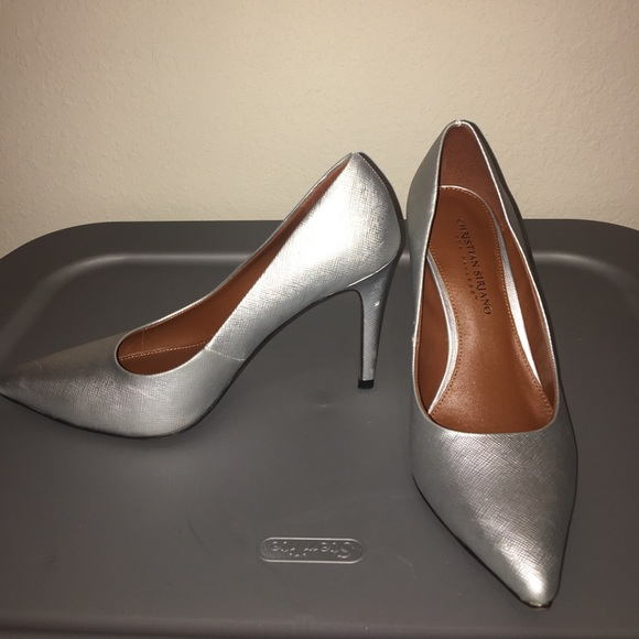 Payless Shoes | Silver Heels | Poshmark