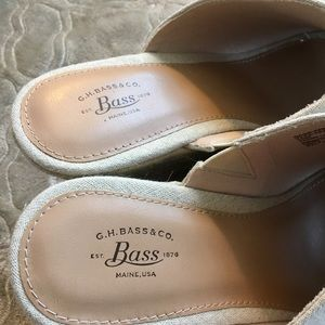 Bass Shoes - NWOB Bass-Addison wedge slide sandals.  Size 10M