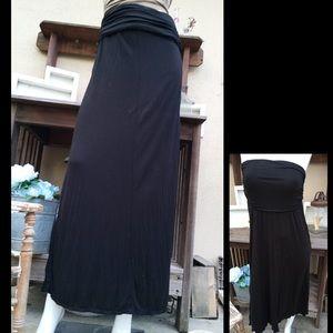 Dresses & Skirts - RUCHED Waist Maxi Skirt