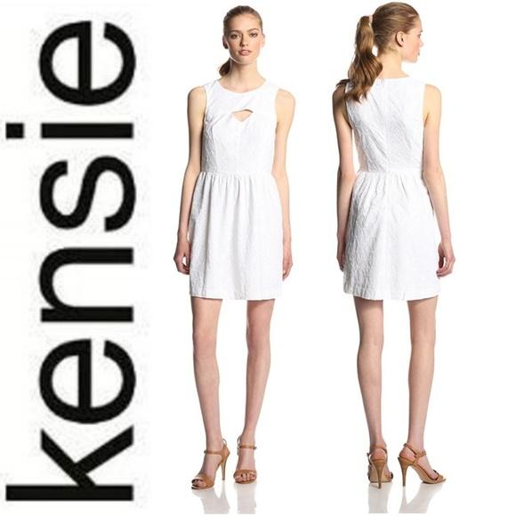 dbdc0442d9408 NWT Kensie Eyelet Cutout Dress XS