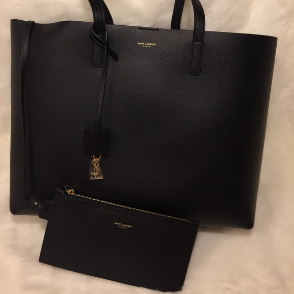 ee4478a94 Saint Laurent Bags | Authentic Large Shopping Tote Bag | Poshmark