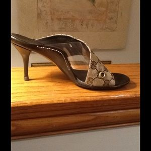 Gucci Shoes - Authentic Gucci Slide Heel