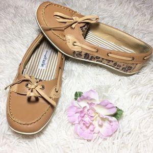 Women's Charming Charlie Cheetah Shoes Size 8
