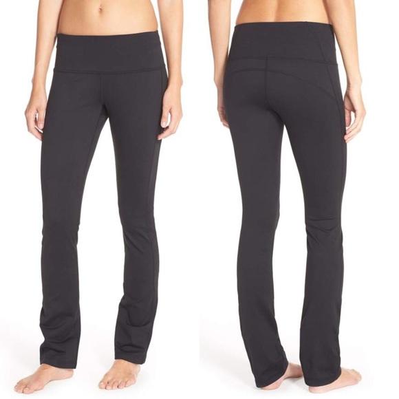 0b68e42fda Zella Pants - Zella Plank Yoga Pants - Large - Black