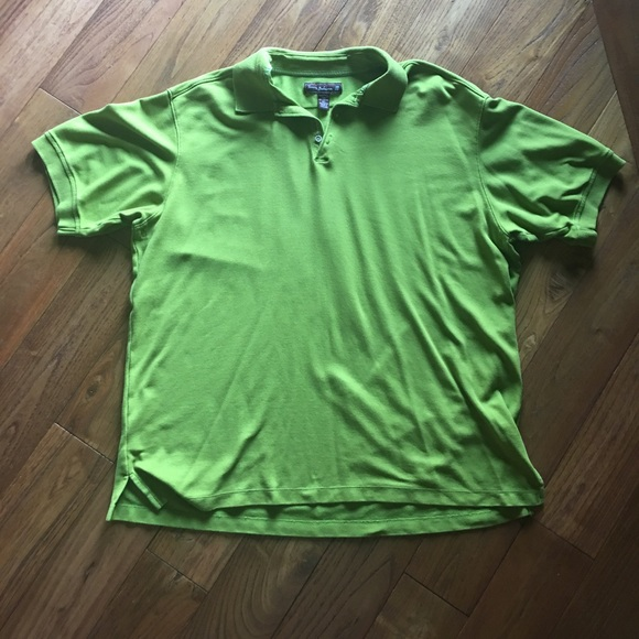 Tommy Bahama Other - Tommy Bahama Textured lime green XXL golf 18 polo