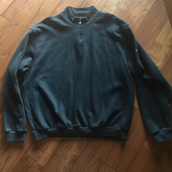 Nike Other - Nike Golf pullover sweat shirt W/ zipper front XL
