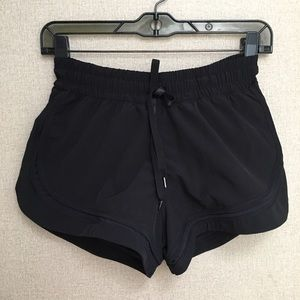 Pants - Lululemon Logo Running Shorts with Built-in Brief