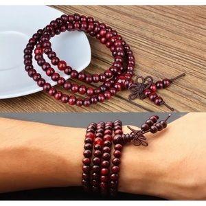 Jewelry - Buddha Meditation 6mm 108 Prayer Bead Bracelet